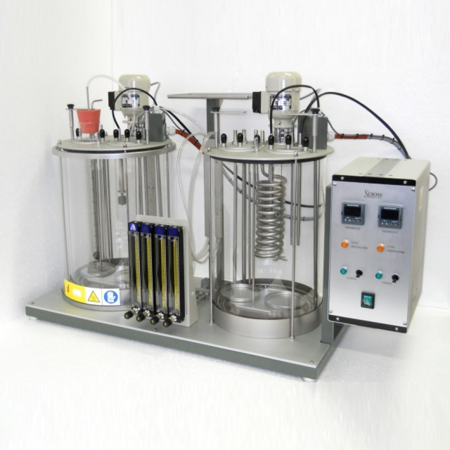 Twin Unit Foaming test Apparatus