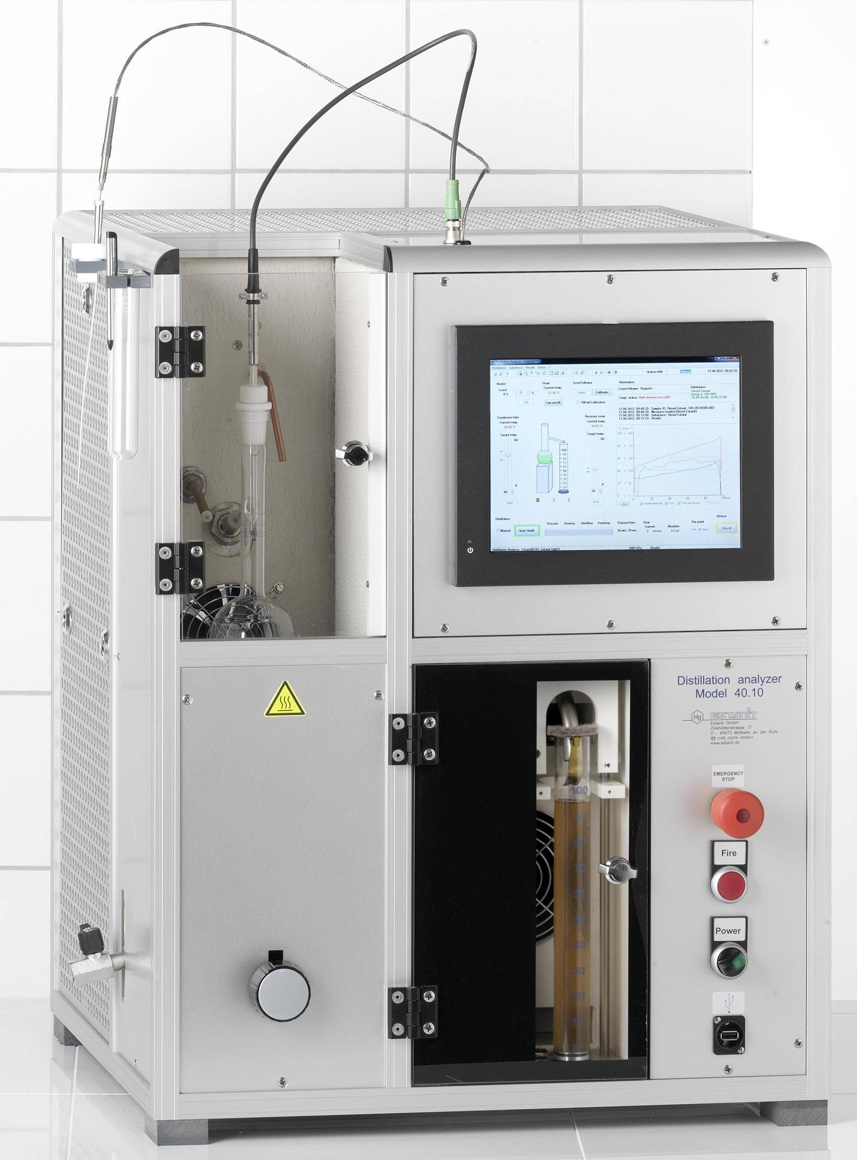 Atmospheric Distillation Analyzer